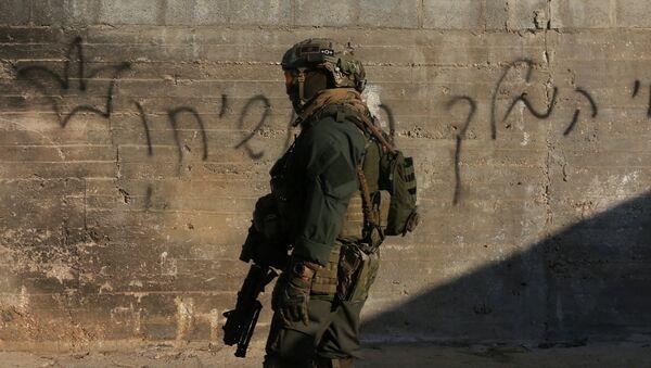 Un militaire israélien en Cisjordanie (photo d'archive) - Sputnik France