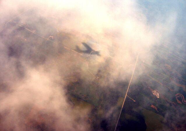 Ombre d'un avion