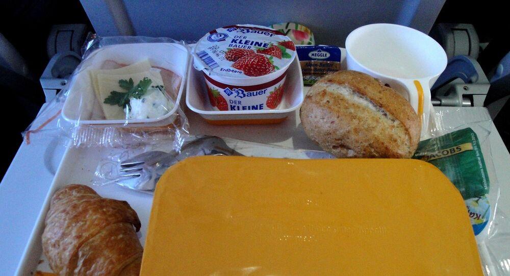 les repas en vol