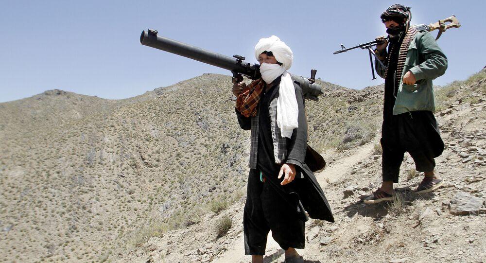 Des talibans en Afghanistan