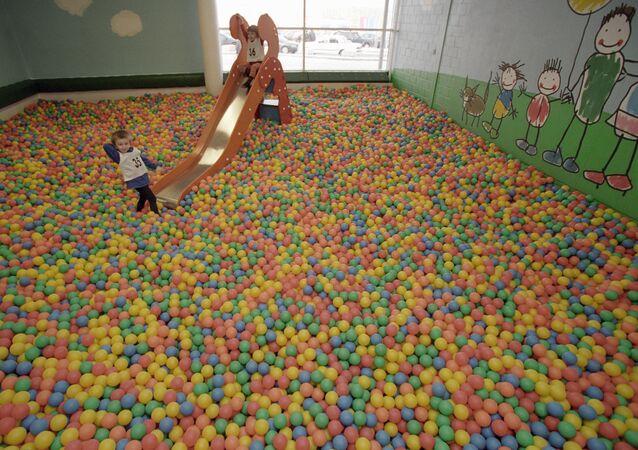 Une salle de jeux (photo d'illustration)