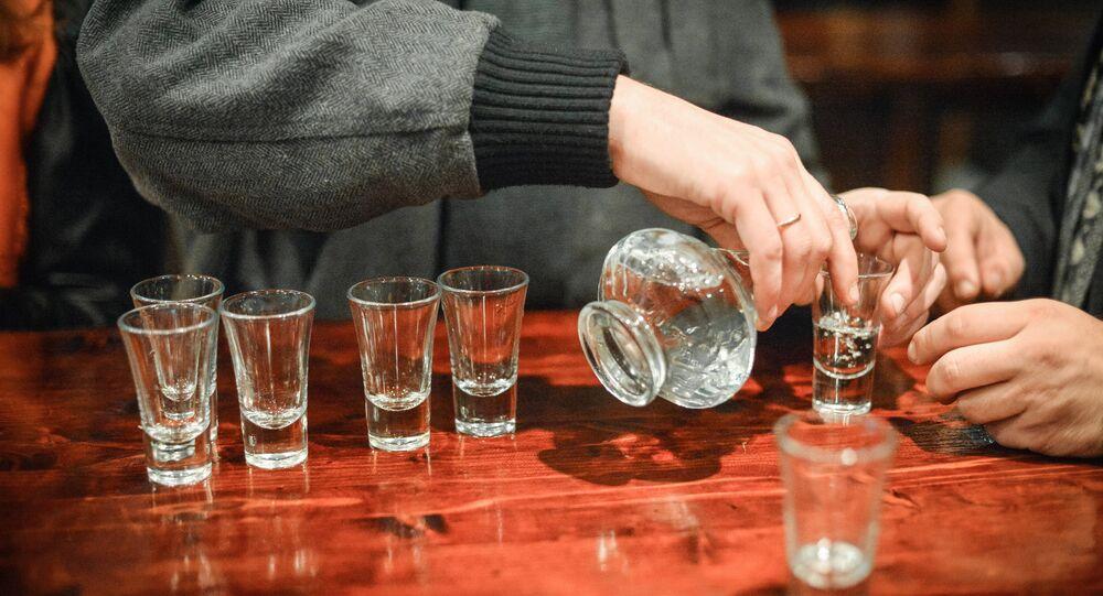 Vodka. Image d'illustration