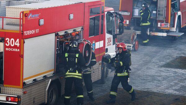 Pompiers russes - Sputnik France