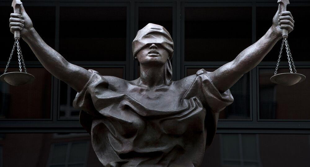 Estatua de la Justicia