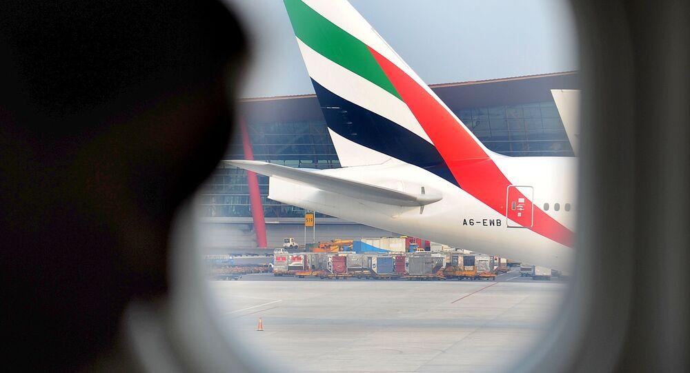 Un avion de la compagnie Emirates Airlines
