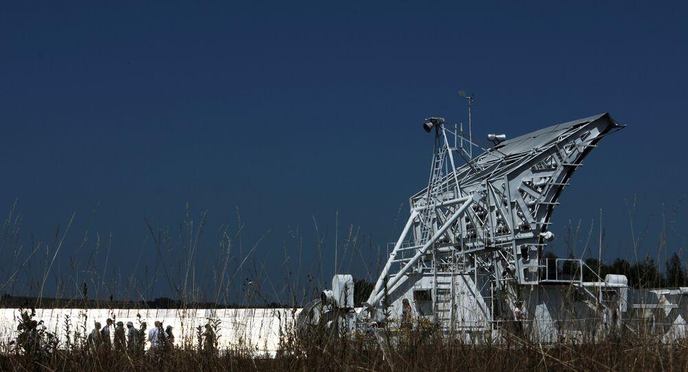 Le radiotélescope RATAN-600
