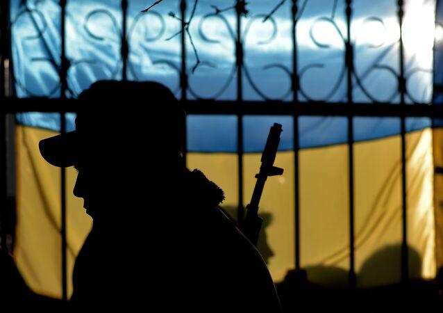 Un militaire ukrainien