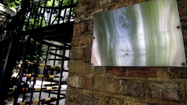 L'ambassade russe à Londres - Sputnik France