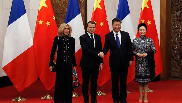 Macron en Chine - Sputnik France