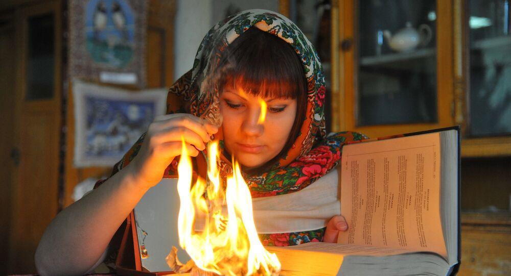 Les rites mystiques russes en cette période la plus «sainte et païenne» de l'année