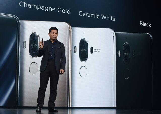 Richard Yu, président de Huawei. Photo d'archive