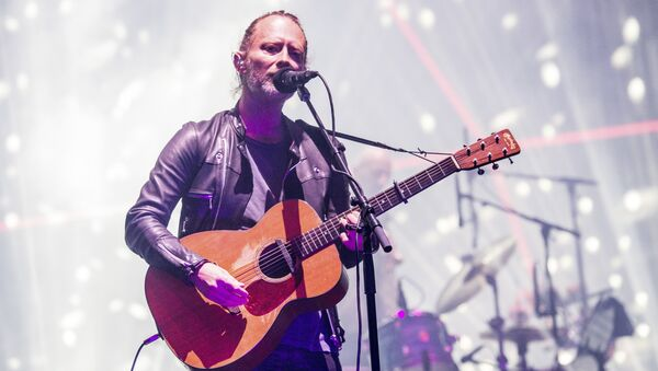Thom Yorke de Radiohead - Sputnik France