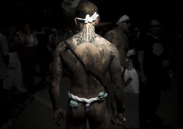 Un yakuza (photo d'archives)