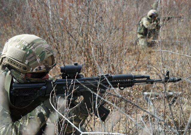 Des commandos russes (image d'illustration)