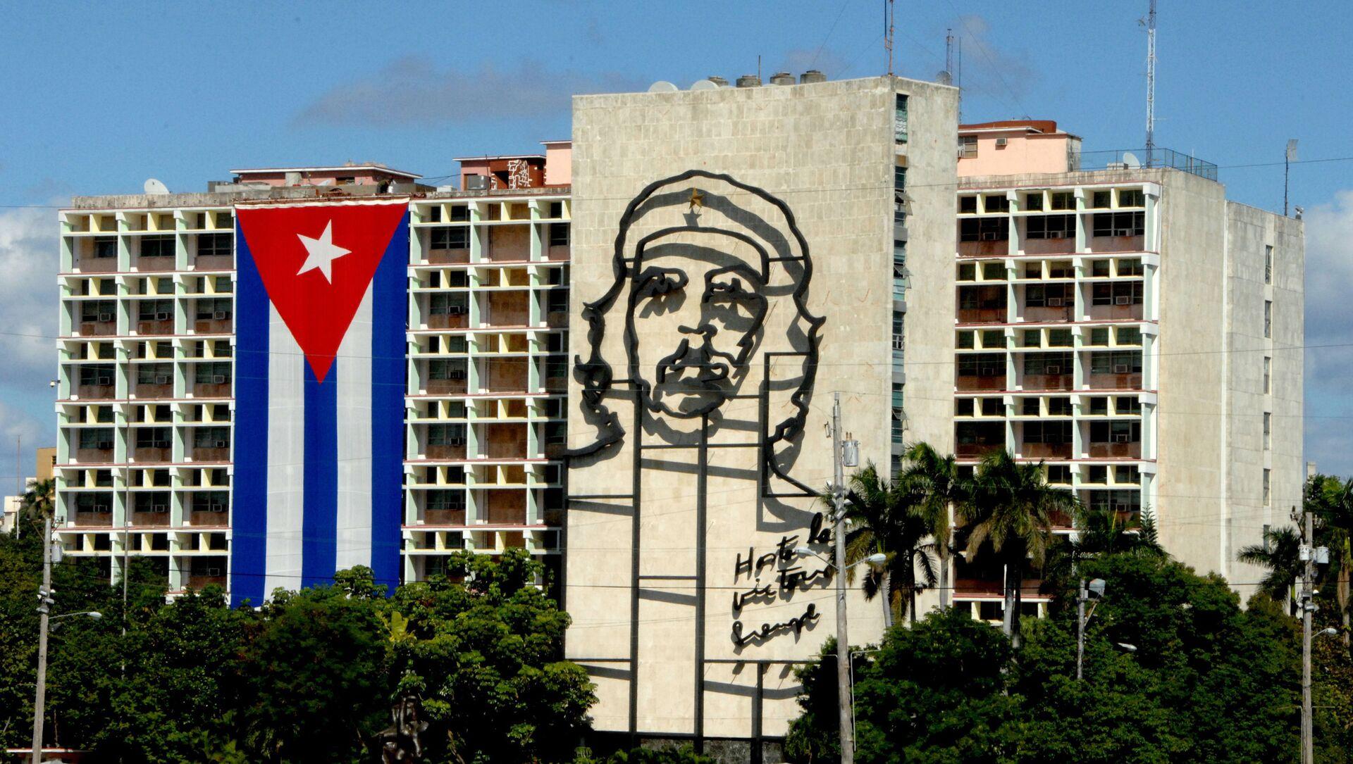 Drapeau cubain à La Havane - Sputnik France, 1920, 01.09.2021