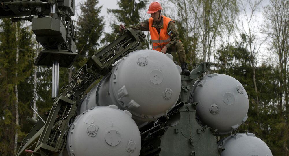 Système de missiles sol-air S-400