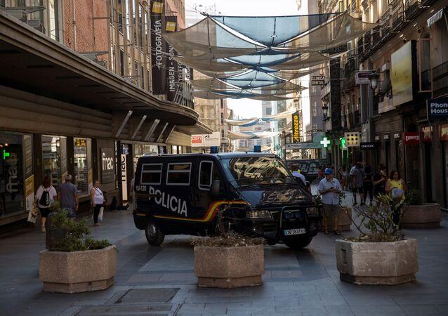 Police à Madrid (image d'illustration)