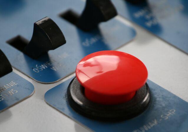 Un boutin rouge