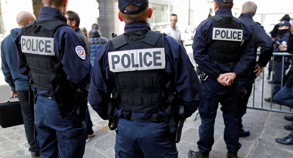 Policiers français. Photo d'archive