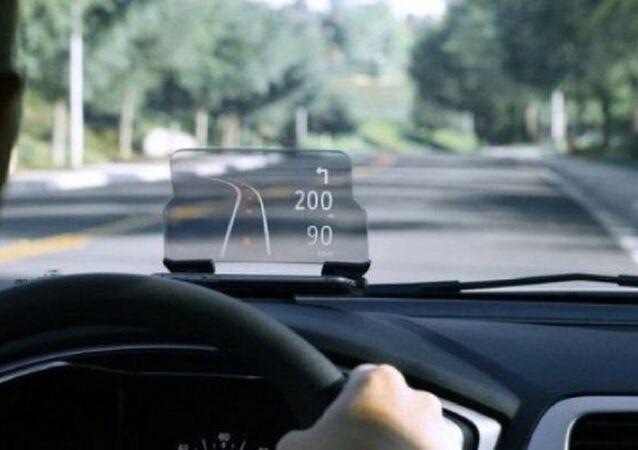 Affichage tête haute pour voiture
