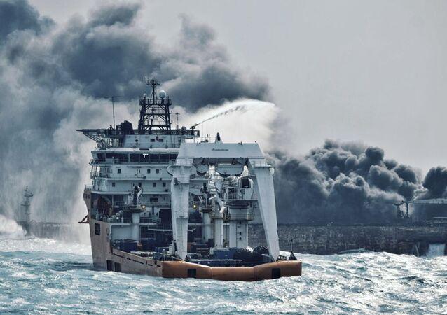 Naufrage du pétrolier iranien Sanchi