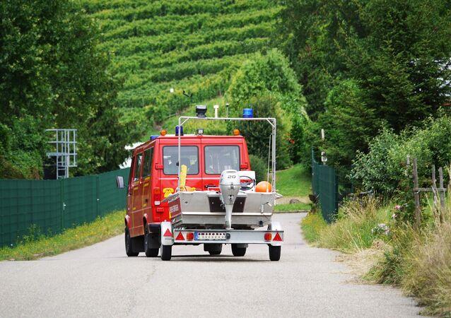 Les pompiers allemands