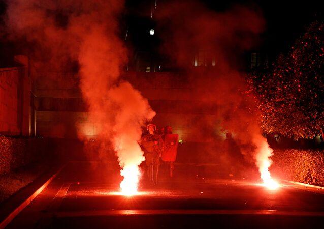 Situation à Athènes