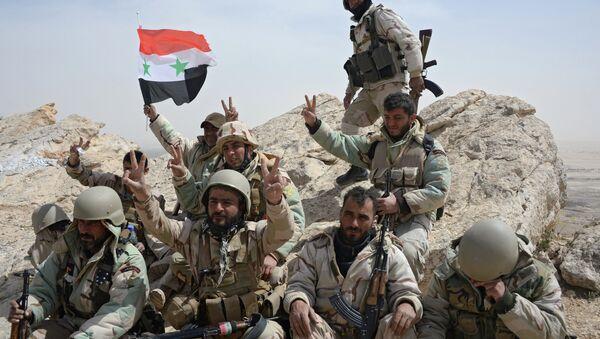 Des soldats syriens - Sputnik France