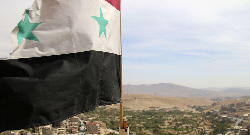 Village de Maaloula, au nord de Damas