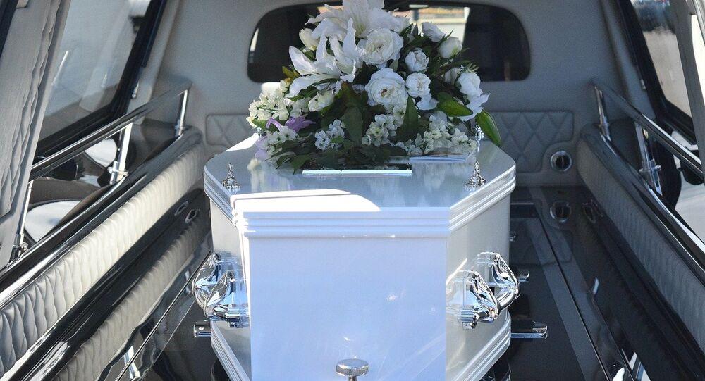 Un cercueil (image d'illustration)