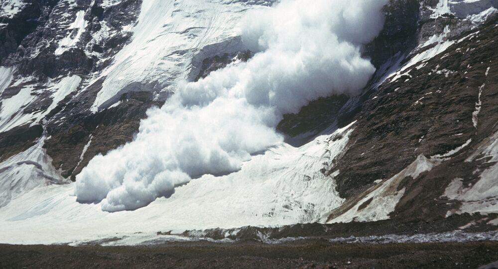 Avalanche / image d'illustration