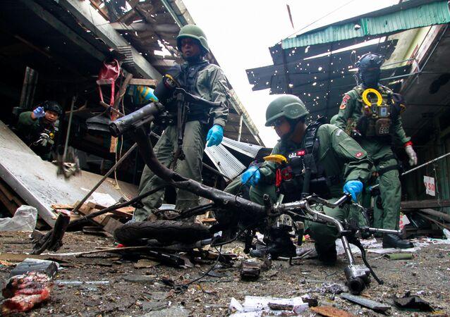 L'explosion d'une bombe en Thaïlande fait 3 morts et 18 blessés