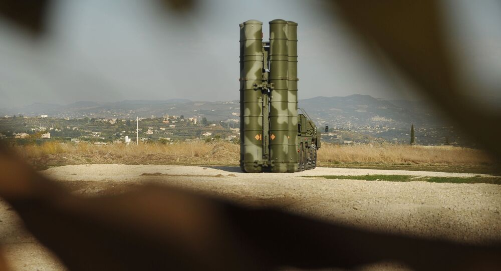 S-400 sur la base Hmeimim
