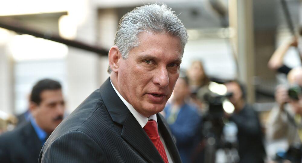 Miguel Diaz-Canel Bermudez