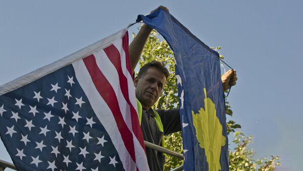 Une «révolution de couleur»… au Kosovo? - Sputnik France