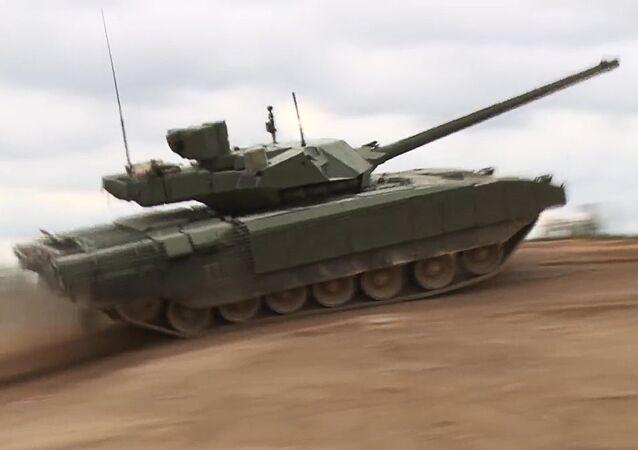 Le char russe Armata