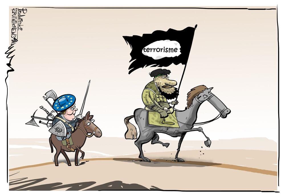 des équipements européenne dans l'arsenal des terroristes