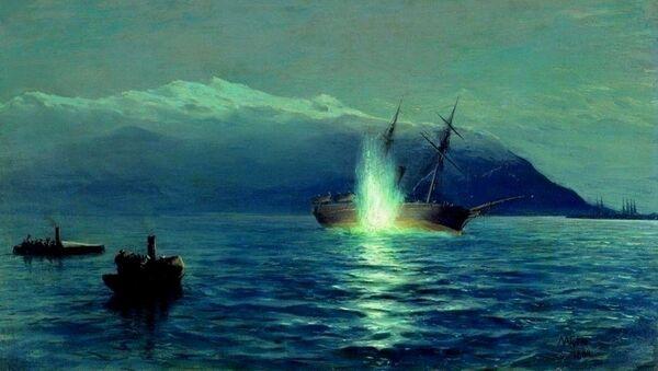 une torpille au combat - Sputnik France