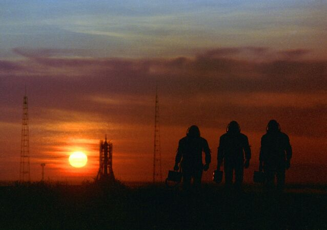 Des cosmonautes au Kazakhstan