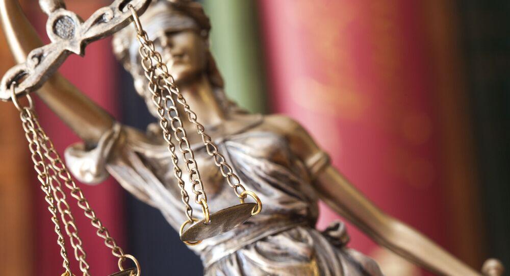 Statue de Thémis, déesse de la Justice