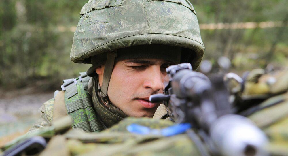 Un soldat pakistanais