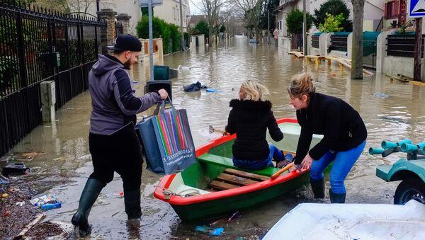 Inondation à Paris - Sputnik France