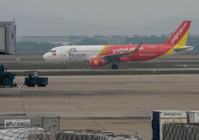 Un avion de la VietJet