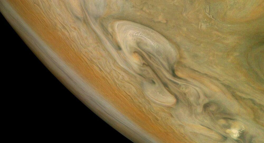 Tempête sur Jupiter