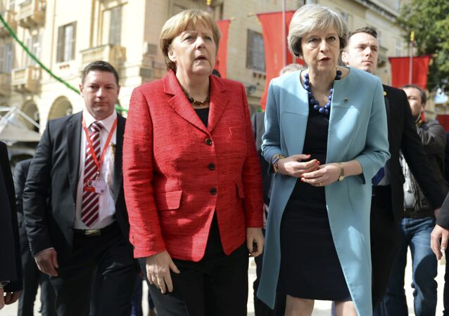 Angela Merkel et Theresa May
