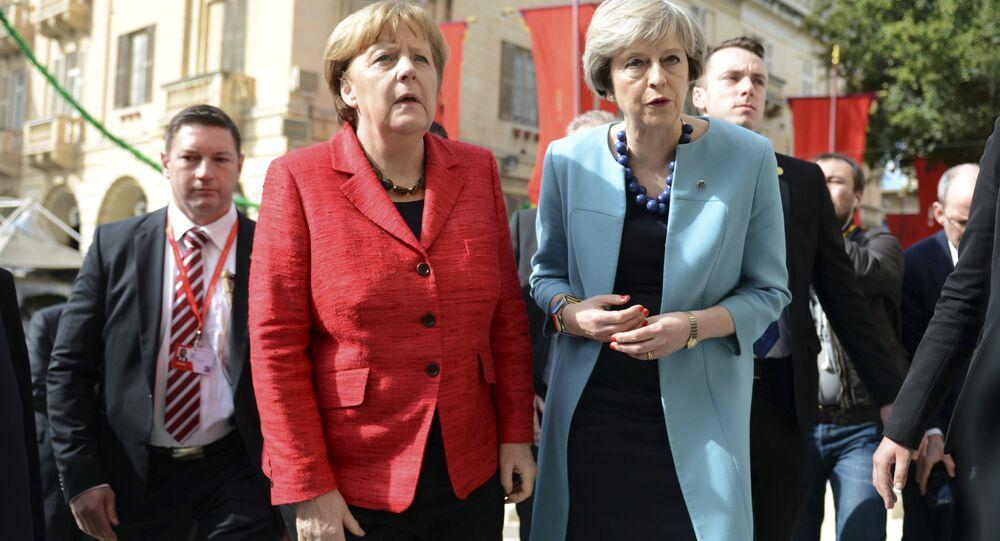 Angela Merkel et Theresa May