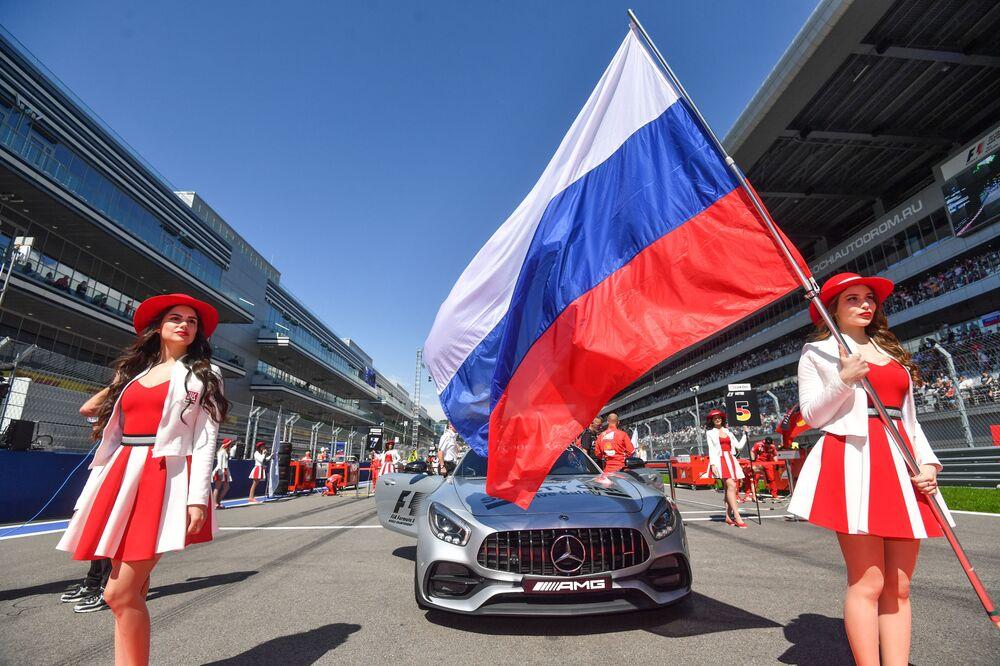 Il n'y aura plus de grid girls en Formule 1