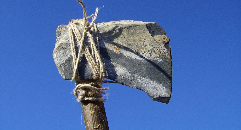 Des outils en pierre