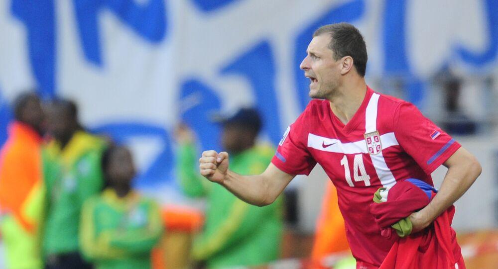 L'ancien footballeur serbe Milan Jovanovic