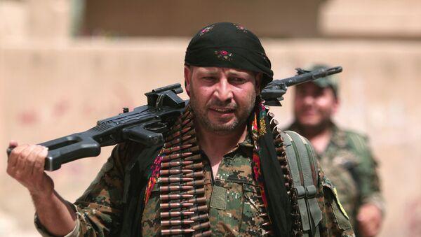 Combattants des YPG - Sputnik France